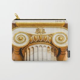 capital of Ionian column Carry-All Pouch