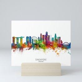 Singapore Skyline Mini Art Print