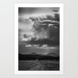 Road to the Misty Mountains Art Print