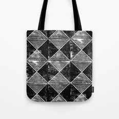 Chequers I Black Tote Bag