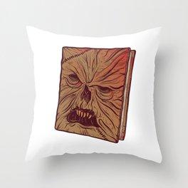 Necronomicon Throw Pillow
