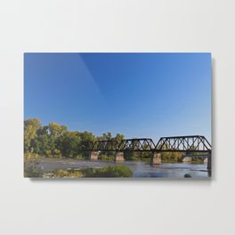 Trestle Over the Maumee Metal Print