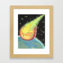Meditative Mama Series~ Sensi Star~ Framed Art Print