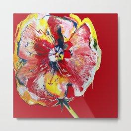 FLOWER WIFEY Metal Print