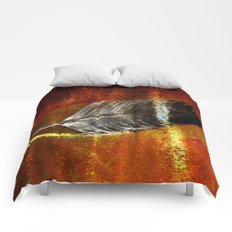 abstract feather# Comforters