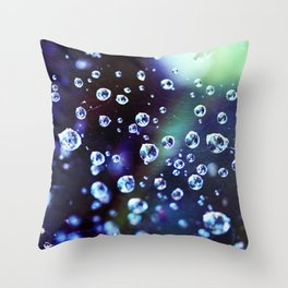 Stars in Space Throw Pillow