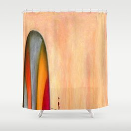 A Different God Shower Curtain