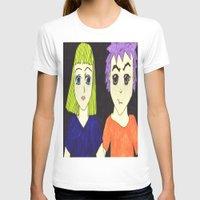 manga T-shirts featuring Manga pals by Betty Apple Pie