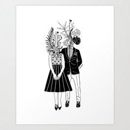 The Greenies Art Print