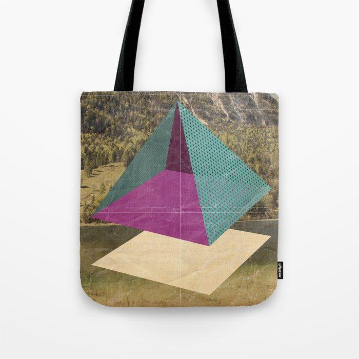 piramidi&nuvole Tote Bag