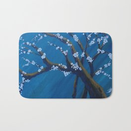 Almond tree in Spring Bath Mat