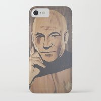 picard iPhone & iPod Cases featuring Jean-Luc Picard (Patrick Stewart)  by Andulino