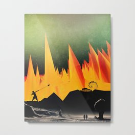 Dante's Inferno: Circle of Herecy Metal Print
