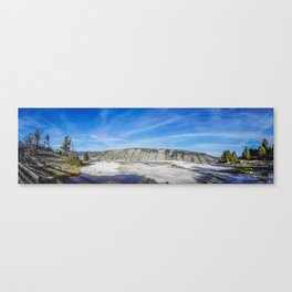 Mammoth Hot Springs, Yellowstone National Park 3 Canvas Print