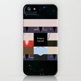 It's been a long road - square - Star Trek: Enterprise ENT - startrek Trektangle minimalist  iPhone Case
