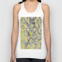 lv Tank Tops featuring LV NEONIZED by JANUARY FROST