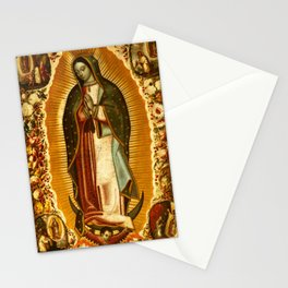 Our Lady Virgin of Guadalupe Virgin Mary Holy Blessed Maria Christmas Gift Religion Stationery Cards