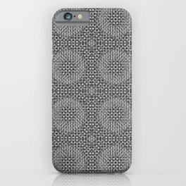 Braided pattern iPhone Case