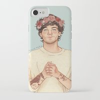 coconutwishes iPhone & iPod Cases featuring Tommo Flower crown by Coconut Wishes