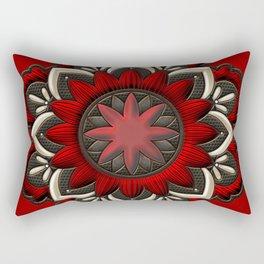 Wonderful noble mandala design Rectangular Pillow