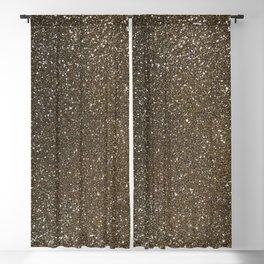 Bronze Gold Burnished Glitter Blackout Curtain