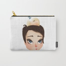 napping birdie Carry-All Pouch