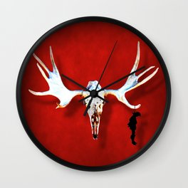 Hang the Hunter Wall Clock
