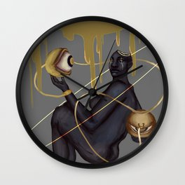 Eyes of Judgement Wall Clock