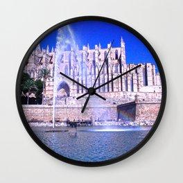 Santa María de Palma de Mallorca Wall Clock