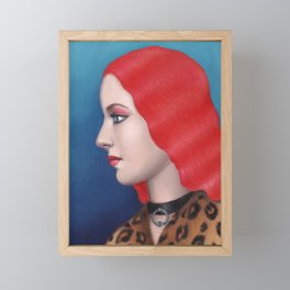 Daphne Framed Mini Art Print