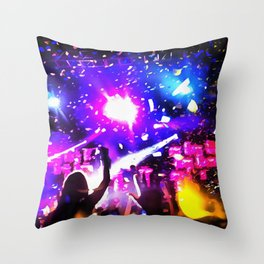 Turn Up Throw Pillow