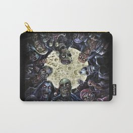 Zombies attack (zombie circle horde) Carry-All Pouch