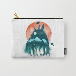 studio ghibli sunset Carry-All Pouch