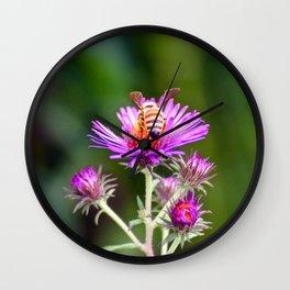 """""""Honey Bee's Haven"""" Wall Clock"""