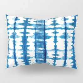 Mudcloth Tie Dye in Blue Pillow Sham