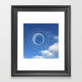 Sky Bubble Framed Art Print