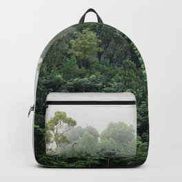 Tropical Foggy Forest Backpack