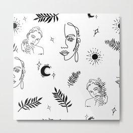 Arabella Metal Print