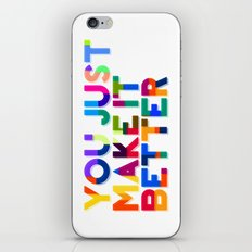 Better iPhone & iPod Skin