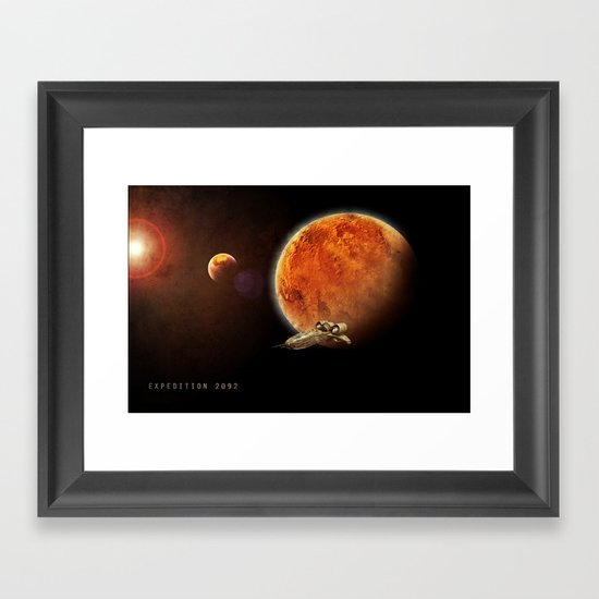 Expedition 2092 Framed Art Print