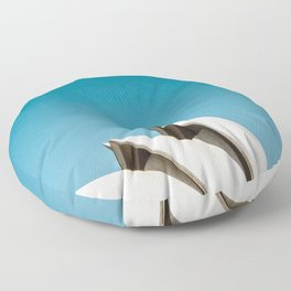 Sydney Opera House   Australia Minimalist Travel Photography Floor Pillow