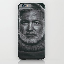 Earnest Ernest Hemingway iPhone Case
