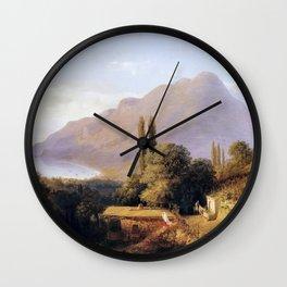 Crimean Landscape 1891 By Lev Lagorio | Reproduction | Russian Romanticism Painter Wall Clock