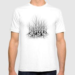 Pyramidal Neuron Forest T-shirt