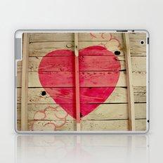 Pink Heart Graffiti  Laptop & iPad Skin