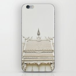 White temple, Thailand iPhone Skin