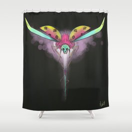 Coccin'hell Shower Curtain