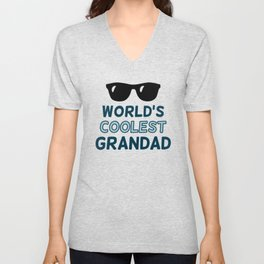 World's Coolest Grandad Unisex V-Neck