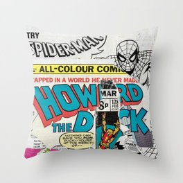 Super Heroes Nr.1 Throw Pillow