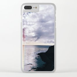 SoCal Cliffs Leaks Clear iPhone Case